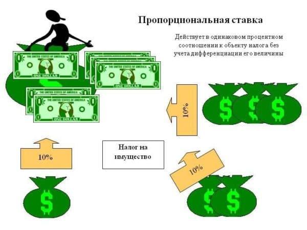 пропорциональное налогообложение